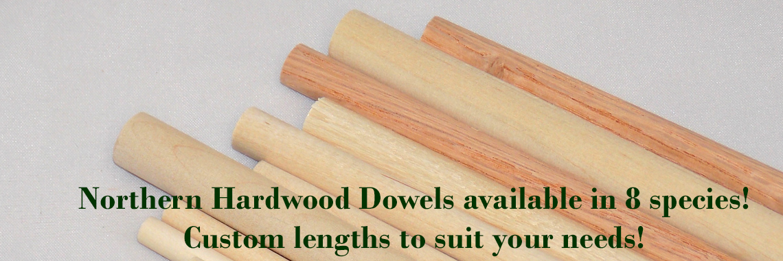 Northern Hardwood Dowels