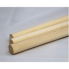 1-1/4'' x 36'' Wooden Ash Dowels (5 pieces)