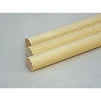 3/8'' x 12'' Wooden Birch Dowels (100 pieces)