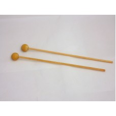 6-1/4'' x 1/8'' Wooden Lollipop Stick w/ Ball (100 PCS)