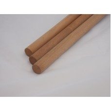 1/4'' x 36'' Wooden Mahogany Dowels (5 pieces)