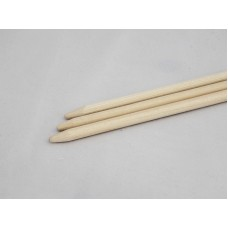 1/4'' x 30'' Wooden Semi Point Skewer Stick