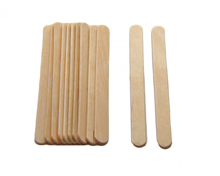 Eco Craft Stix 4-1//2 Wooden Craft Grade Ice Cream Stick Pack of 200 Count